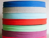 """3/4"""" Cotton twill tape x 50 yard roll.  Herringbone cotton tape, 19mm, in over 200 colour choices."""
