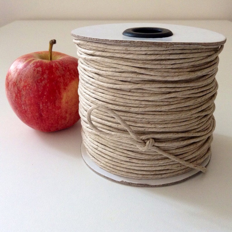 Natural Kraft Card Gift Tag 100 x Apple Jute Tie