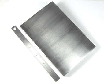 6 x 4 x 1//2 Value Steel Bracelet Bench Block Metal Forming Forging Texturing Stamping Work Surface