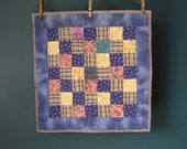 Patchwork Cotton Doll Quilt