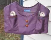 Purple Clothespin Bags