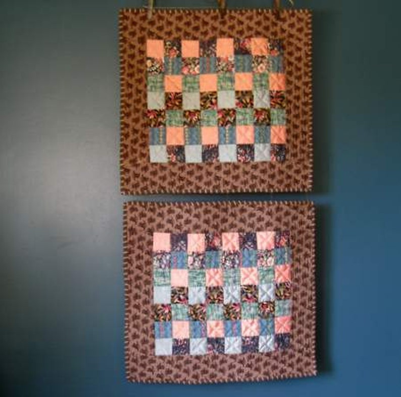 Small Quilts Vintage Style image 0