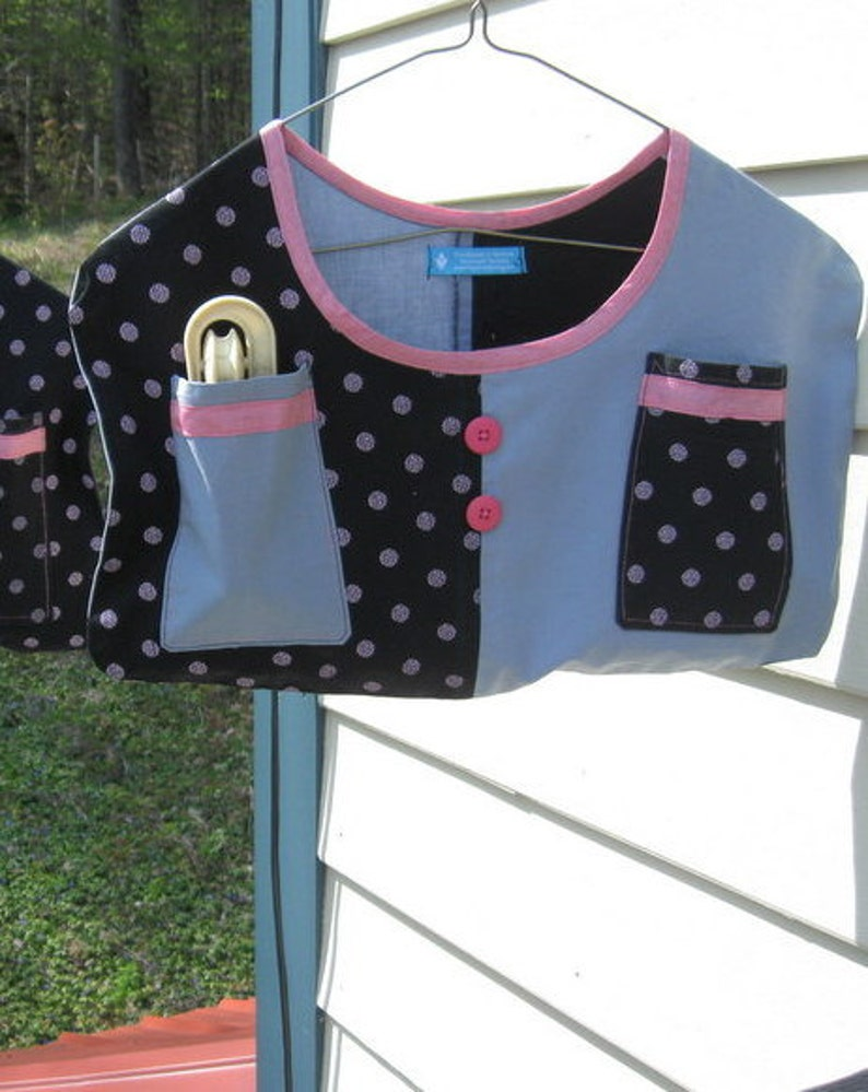 Patchwork Clothespin Bags image 0