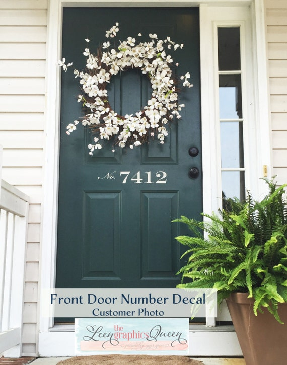 Ordinaire House Numbers Address Custom House Number Front Door | Etsy