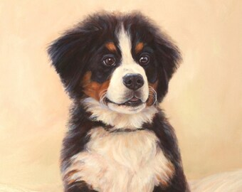 Custom Dog Portrait and Commission Dog painting of all dog breeds