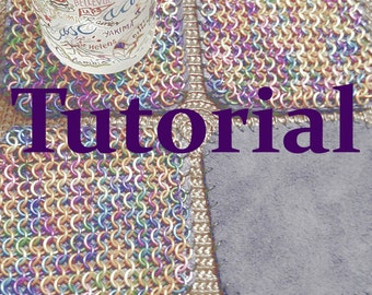 Chainmail and Leather Coaster Tutorial