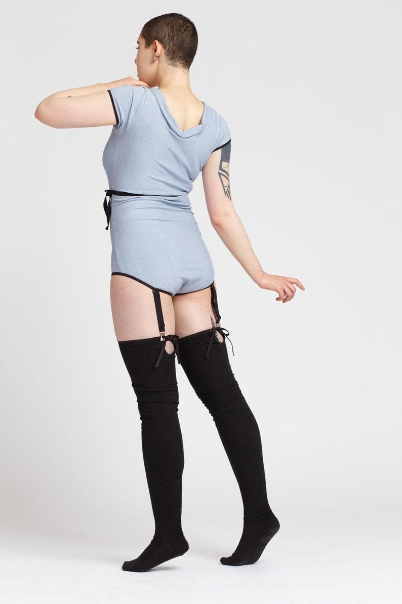 a026d52d372 Sappho Thigh High Stockings