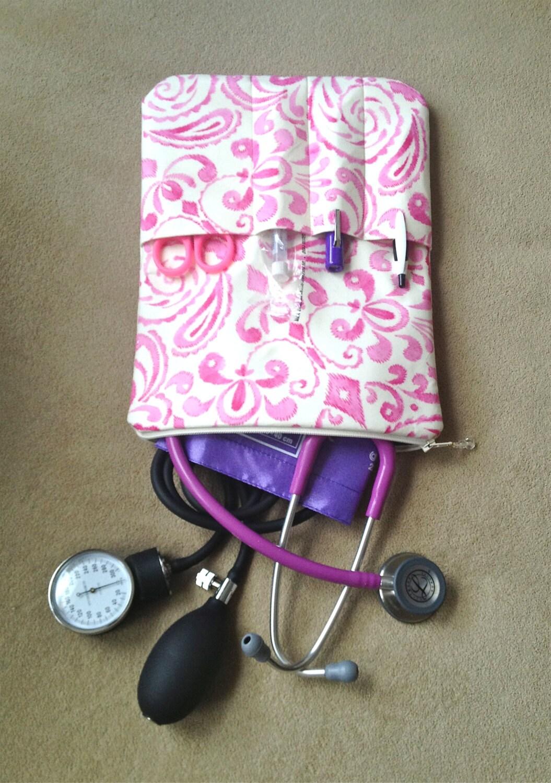 BOLSO de enfermería / cualquier caso estetoscopio enfermera