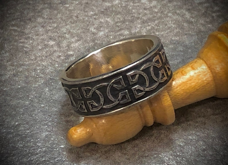 Sterling Silver Celtic Knot Ring