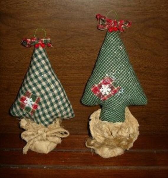 image 0 - Christmas Ornaments Handmade Christmas Ornaments Homespun Etsy