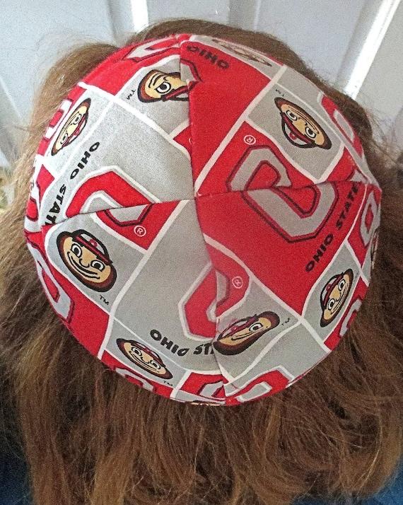 Ohio State Buckeyes Kippah Or Yarmulke Select Pattern Style Etsy