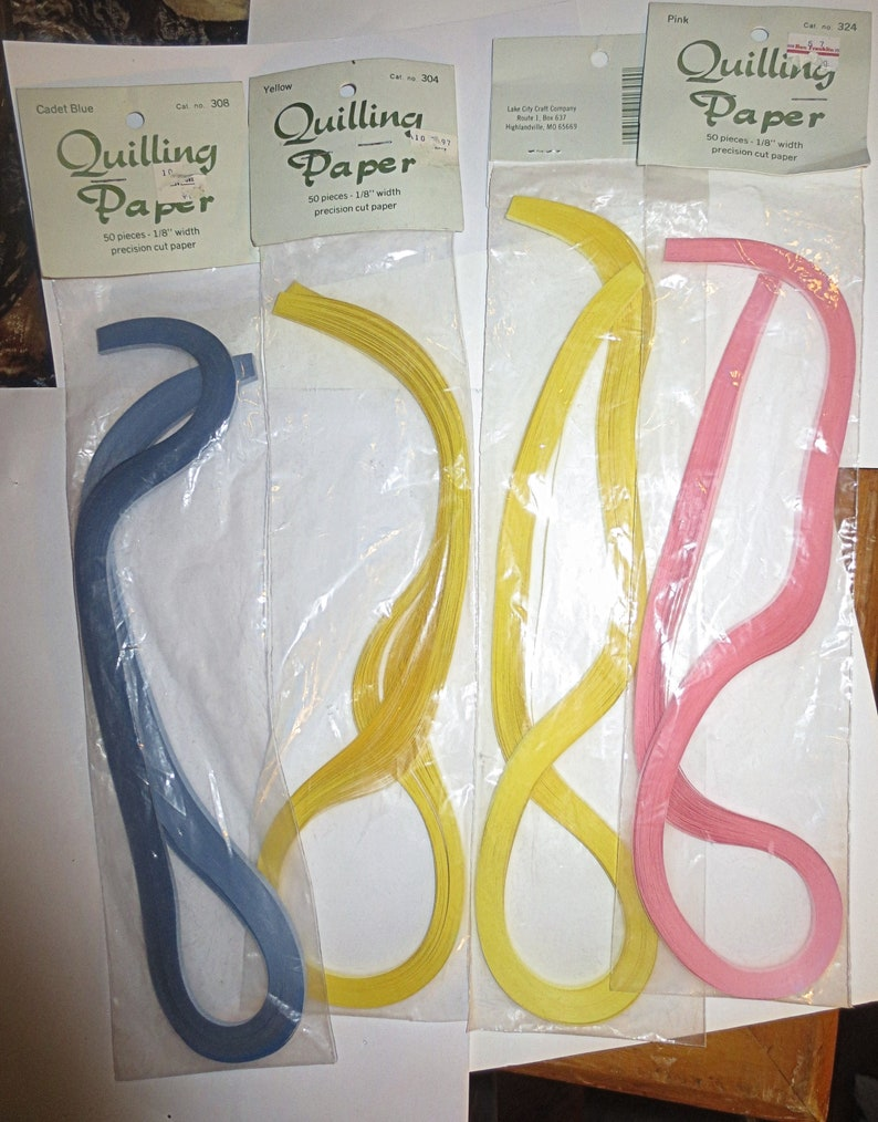 10mm wide quilling paper 100 quilling paper strips in 5 shades of yellow