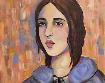 Brontë - Original Portrait Painting