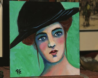 Lillian - Original Portrait Painting
