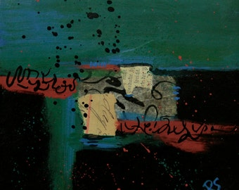 Sedimentary Thoughts - Original Mixed Media Painting