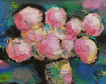 The Gift of Flowers #2 - Original Still Life Painting