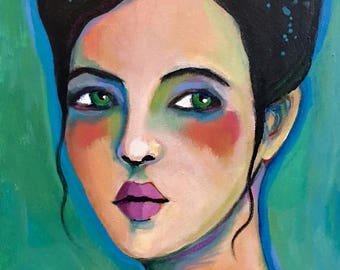 Portrait of Brynn - Original Portrait Painting