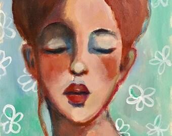 Portrait of Rylee - Original Portrait Painting