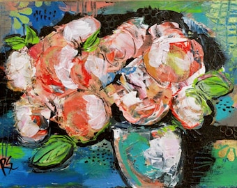 The Gift of Flowers #1 - Original Still Life Painting