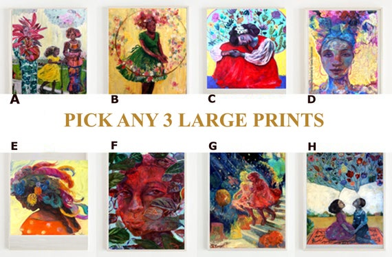 SERIES SPECIAL- Three Print Packet