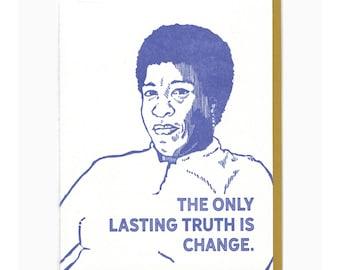 Octavia Butler A2 card