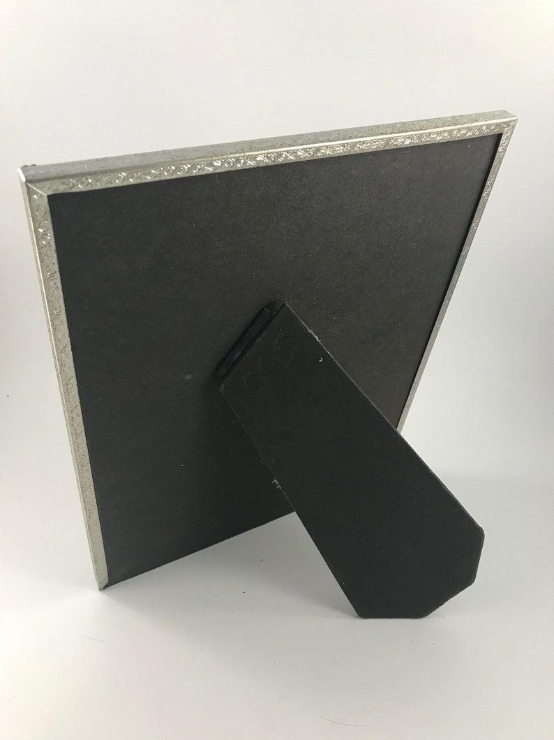 Vintage Silvertone 8 x 10 Picture Frame with Stand