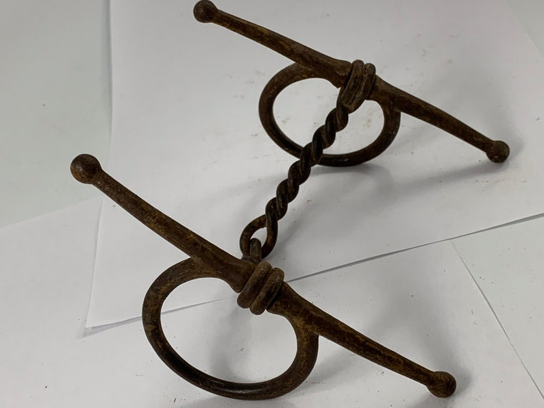 AntiqueVintage Horse Bridle Bit with Great Patina