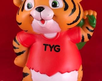 Vintage 1981 Shirt Tales TYG Plastic Bank