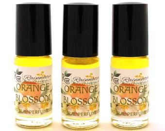 Orange Blossom Natural Perfume Oil