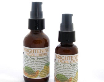 Brightening Facial Cream With Natural Zinc