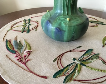 The Dragonfly, the Eucalyptus & Other Things Embroidery Kit