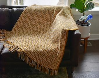 Instant Download, Maze Throw Crochet PATTERN