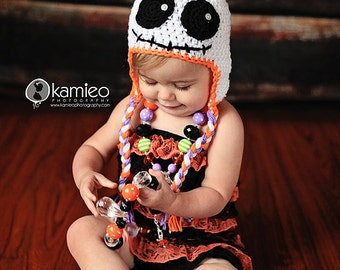 Instant Download, Ghost Hat PDF PATTERN