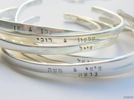 Inspirational Jewelry custom personalized,Inspirational Jewelry Sister Birthday Friend Gift-SimaG Hand Stamped Secret Message Bracelets