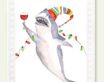 great white shark christmas ornament- shark ornament- ornament christmas- shark week- shark lovers gift- shark holiday ornament-shark gift