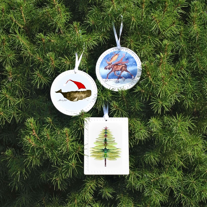 Blue crab Christmas ornament crab gift nautical ornament ...