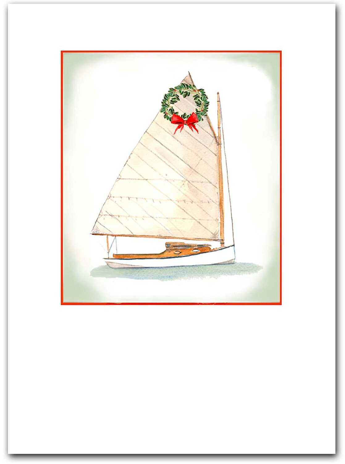 Catboat Christmas cards. 10 per box Catboat cards | Etsy