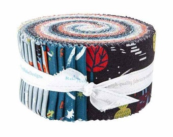 Jelly Roll Strips TINY TREATERS Riley Blake Designs Fabric by Jill Howarth 5-10480-42