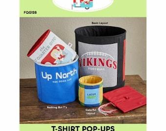 T-Shirt Pop-Ups Pattern by Fat Quarter Gypsy