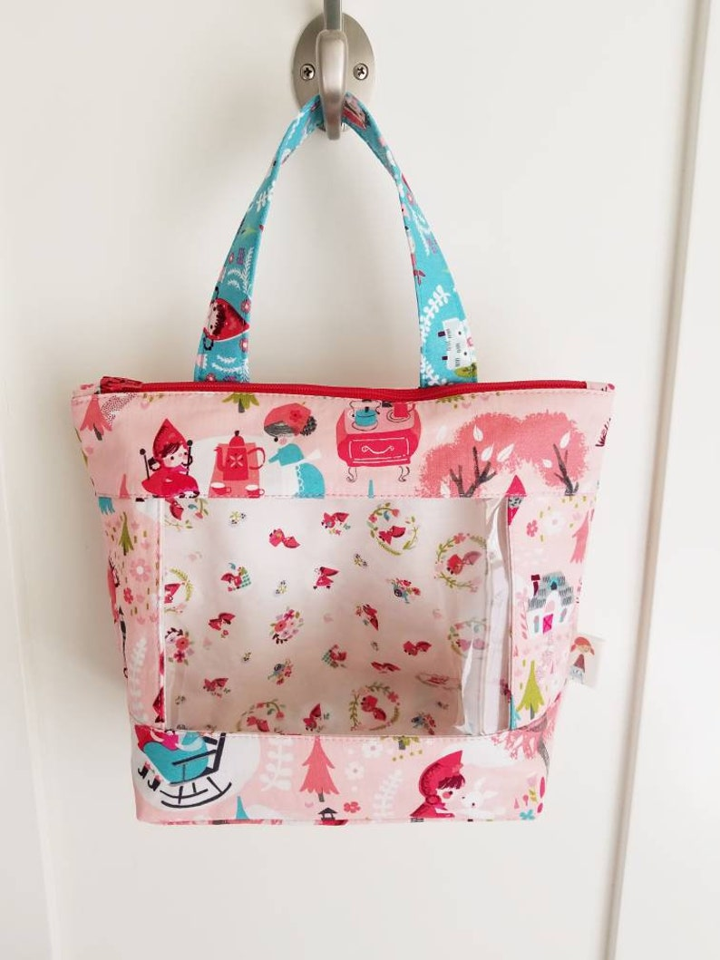 SALE KIT  Little Red Riding Hood Bag Tote  fabric image 0