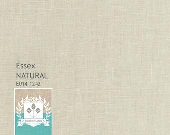 Natural Essex Linen from Robert Kaufman fabric fat quarter, half yard or yard