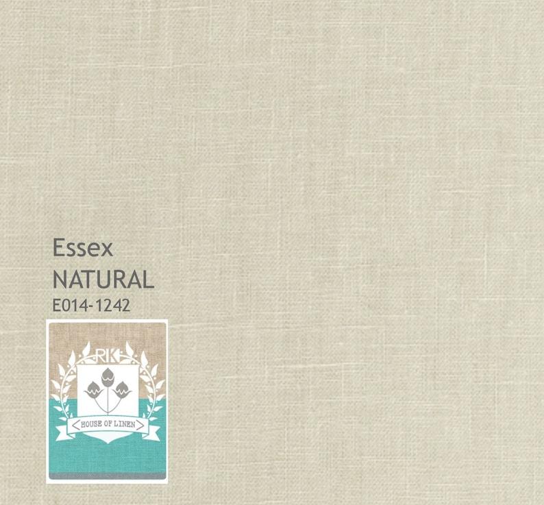 SALE Natural Essex Linen from Robert Kaufman fabric fat image 0