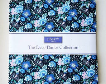 10 inch squares LIBERTY of LONDON Layer Cake Riley Blake Designs Fabric by The Deco Dance