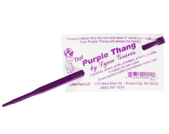 That Purple Thang for sewing & crafting, stuffing by Lynn Graves notion