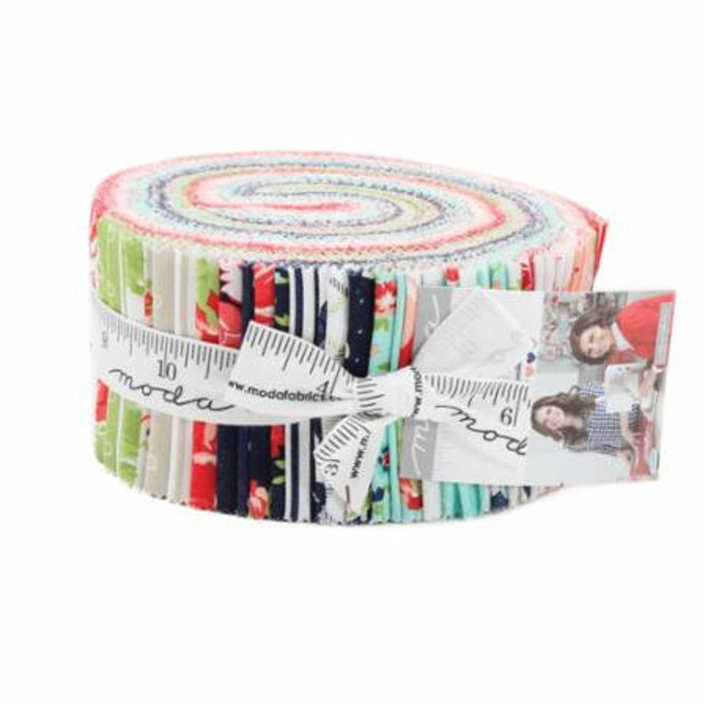 SALE Jelly Roll SMITTEN Moda fabric from Bonnie & Camille image 0