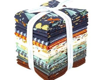 15 Fat Quarters WOODLAND Flannel fabric Riley Blake Designs FQ-10630-15
