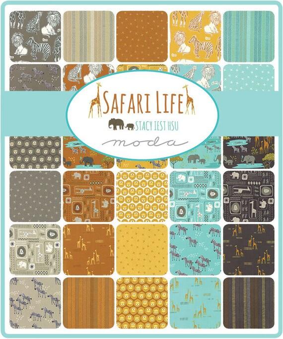 Afbeeldingsresultaat voor Moda 20640-JR Jelly Roll Safari Life