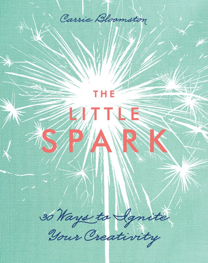 SALE The Little Spark  30 Ways to Ignite Your Creativity image 0