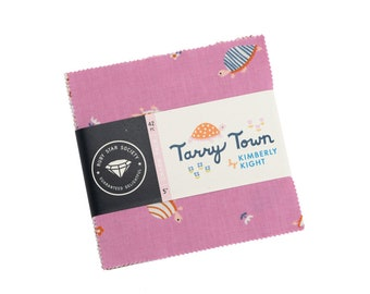 TARRYTOWN 5 inch charm pack Moda Fabric by Kimberly Kight RS3020PP Ruby Star Society Tarry Town