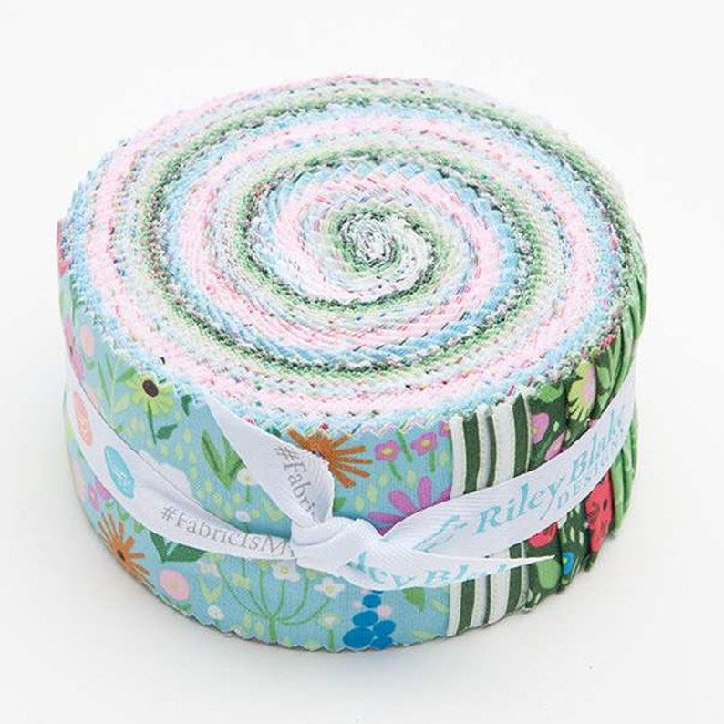 SALE 2.5 inch strips KINDRED SPIRITs Jelly Roll fabric by image 0